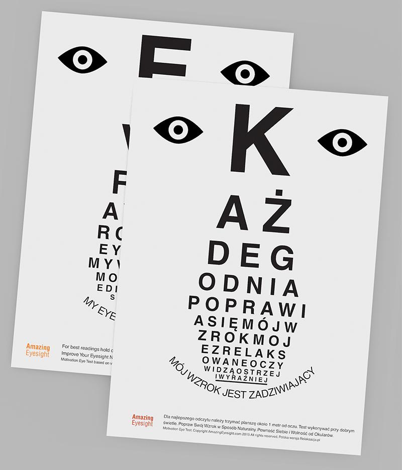 Dwa Motywacyjne Testy Wzroku